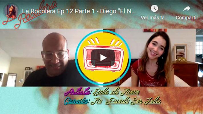 "La Rocolera Ep 12 - Diego ""El Negro"" Álvarez"