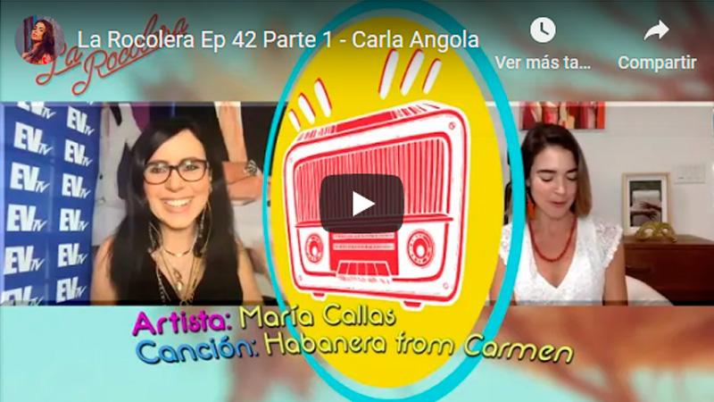 La Rocolera Ep 42 - Carla Angola